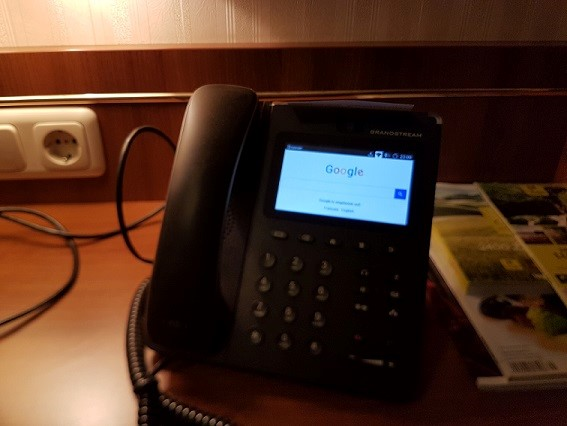 Where are you hidden, hotel access point ?!: Who said you can't phone and browse?